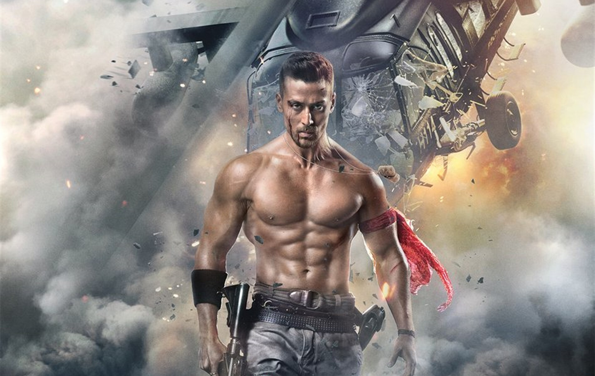 jai hemant shroff in baaghi 2 film wallpapers | hd wallpapers