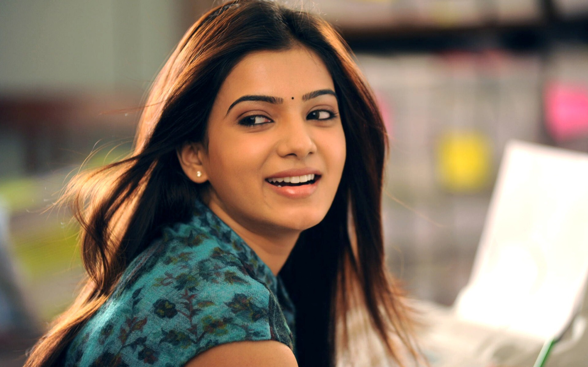 smile face of indian actress samantha | hd wallpapers