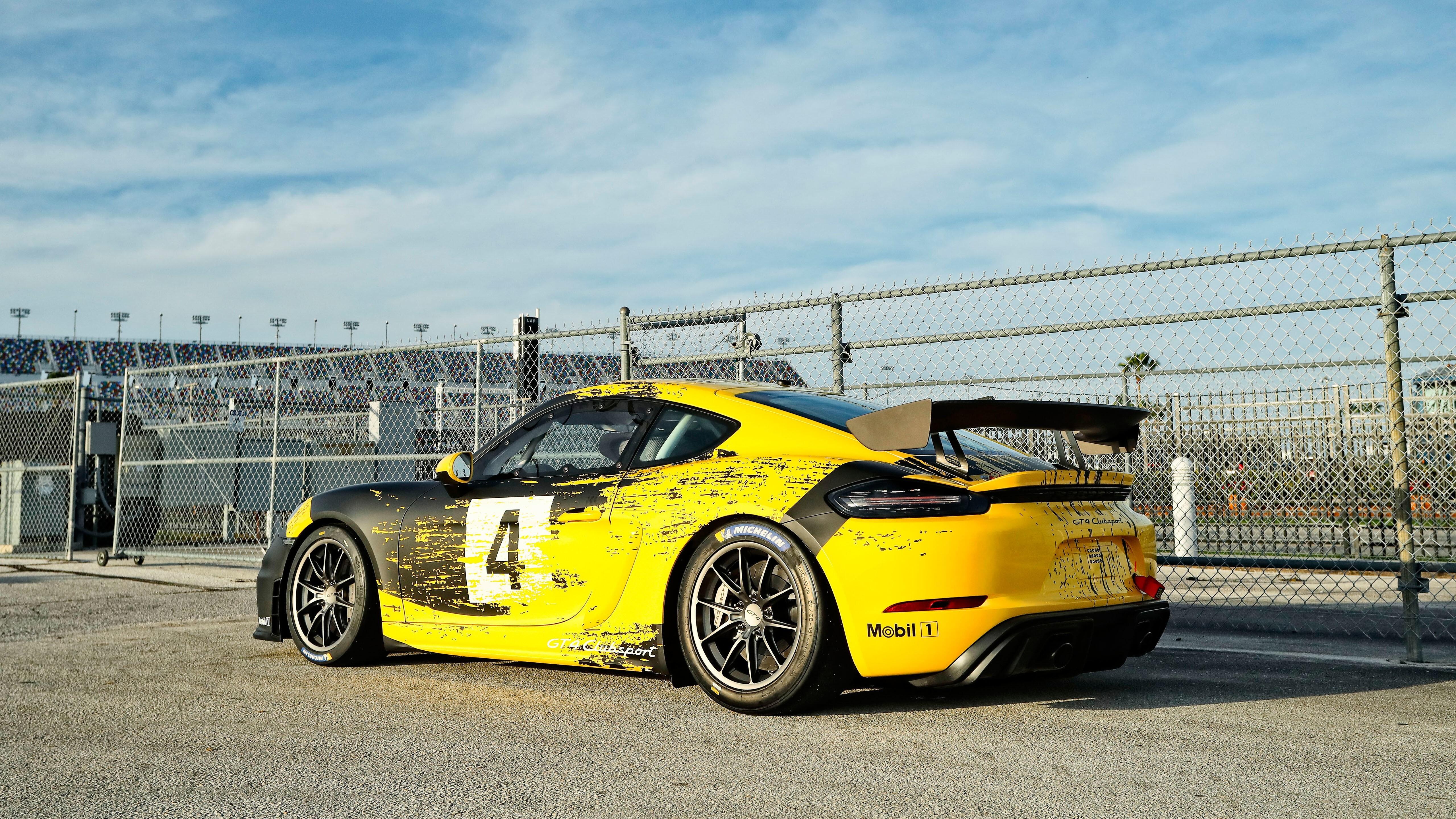 2019 Porsche 718 Cayman GT4 Clubsport 5K Car Wallpaper ...