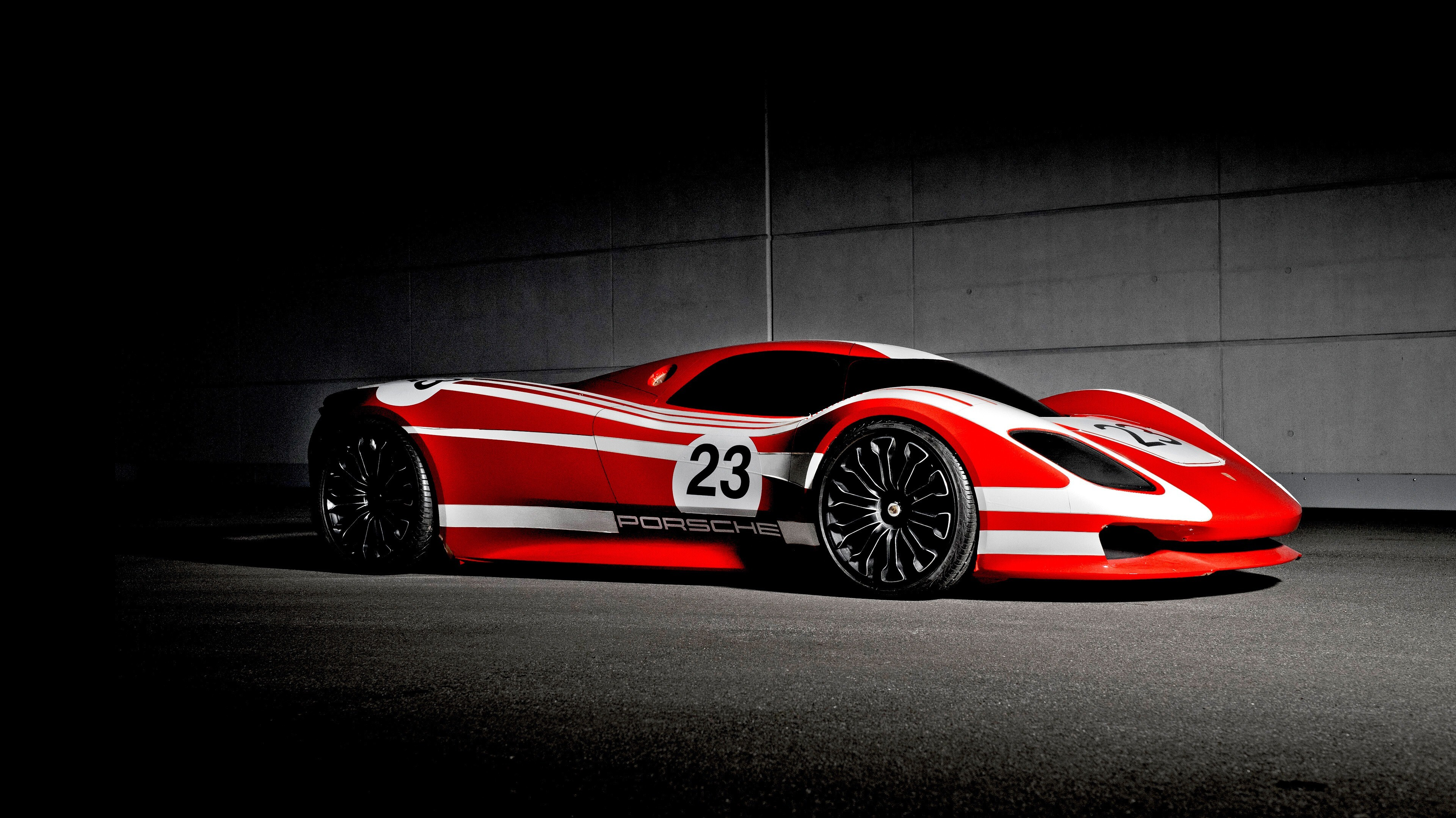 2019 Red Porsche 917 Hommage 4K Car Wallpaper | HD Wallpapers