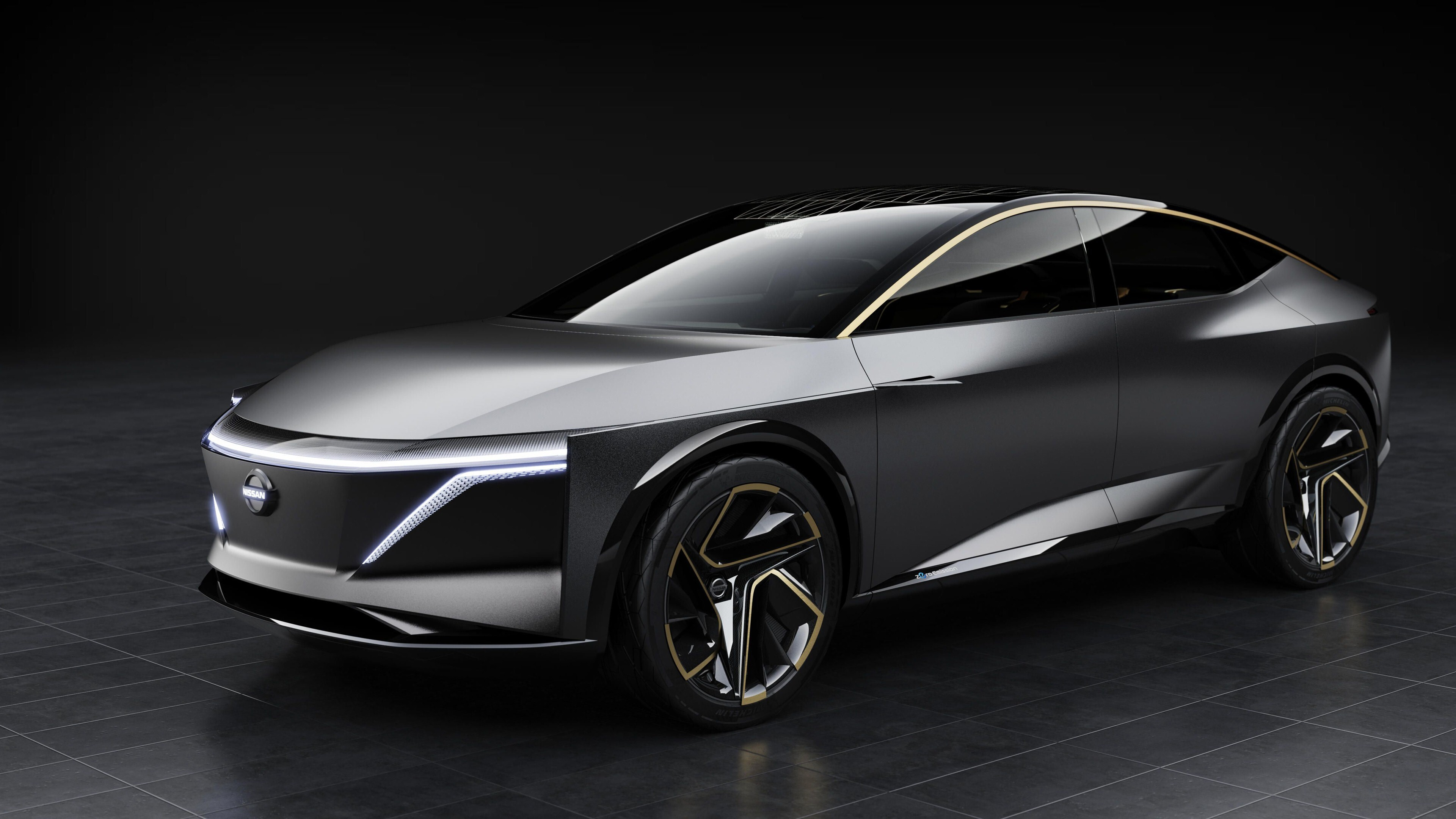 4K Wallpaper of Nissan IMs EV Concept Car | HD Wallpapers