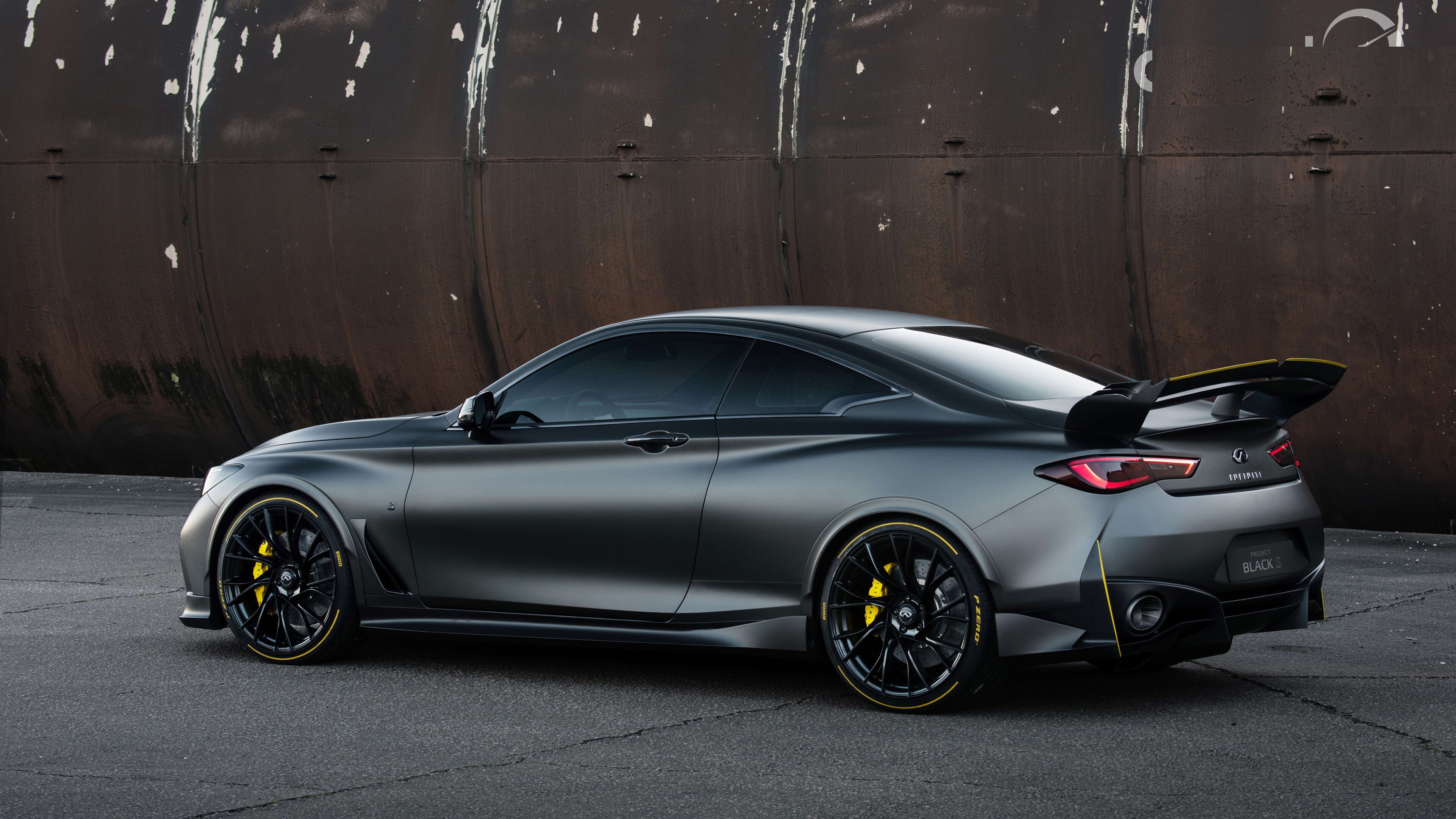 Infiniti Project Black S 4k Car Hd Wallpapers