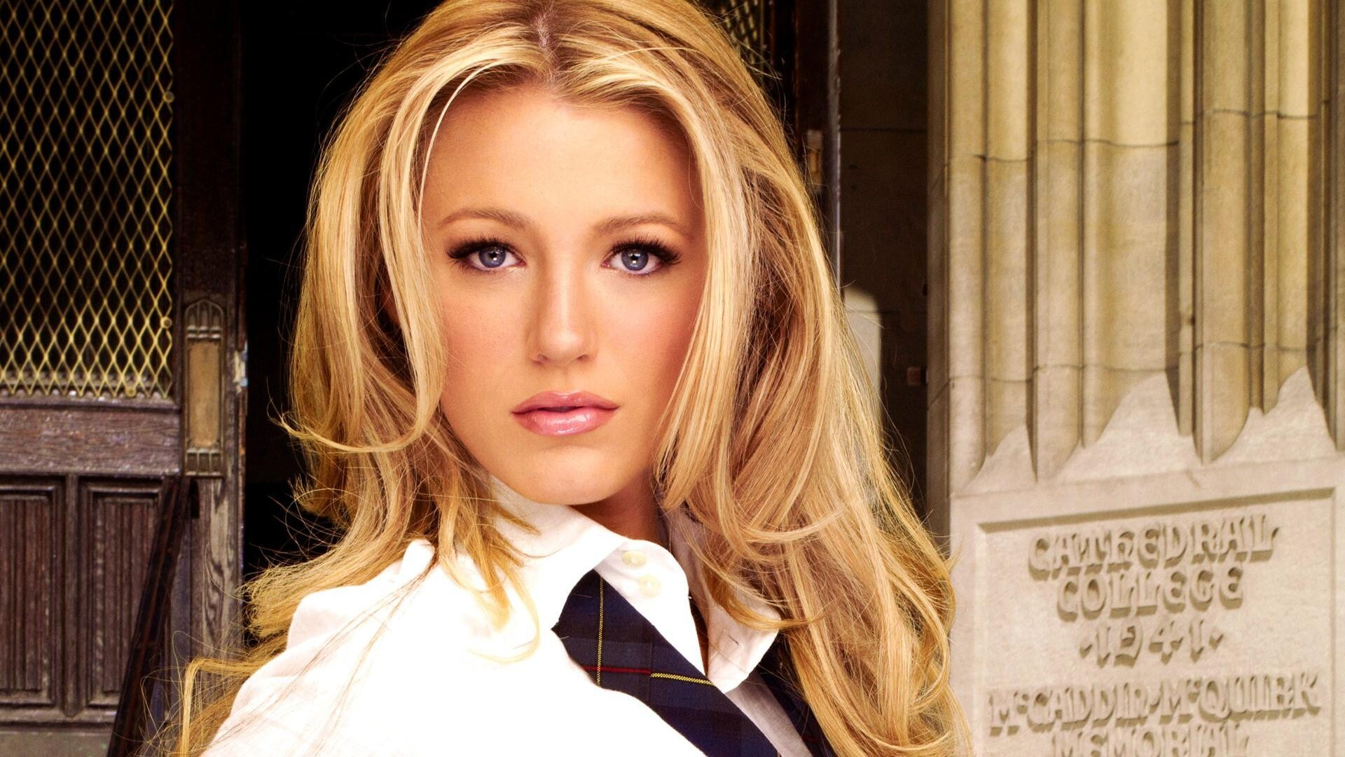 Beautiful Blake Lively American Film Actress Model Female
