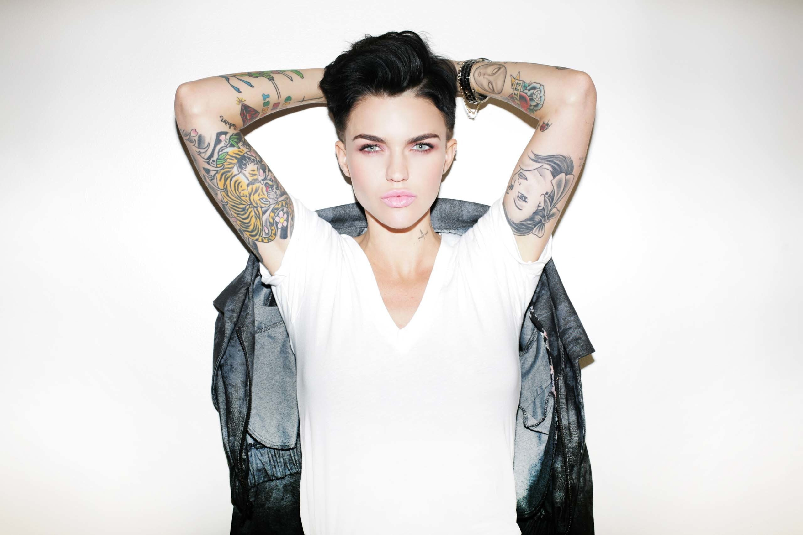 Ruby Rose Actress Tattoo Wallpapers Hd Wallpapers