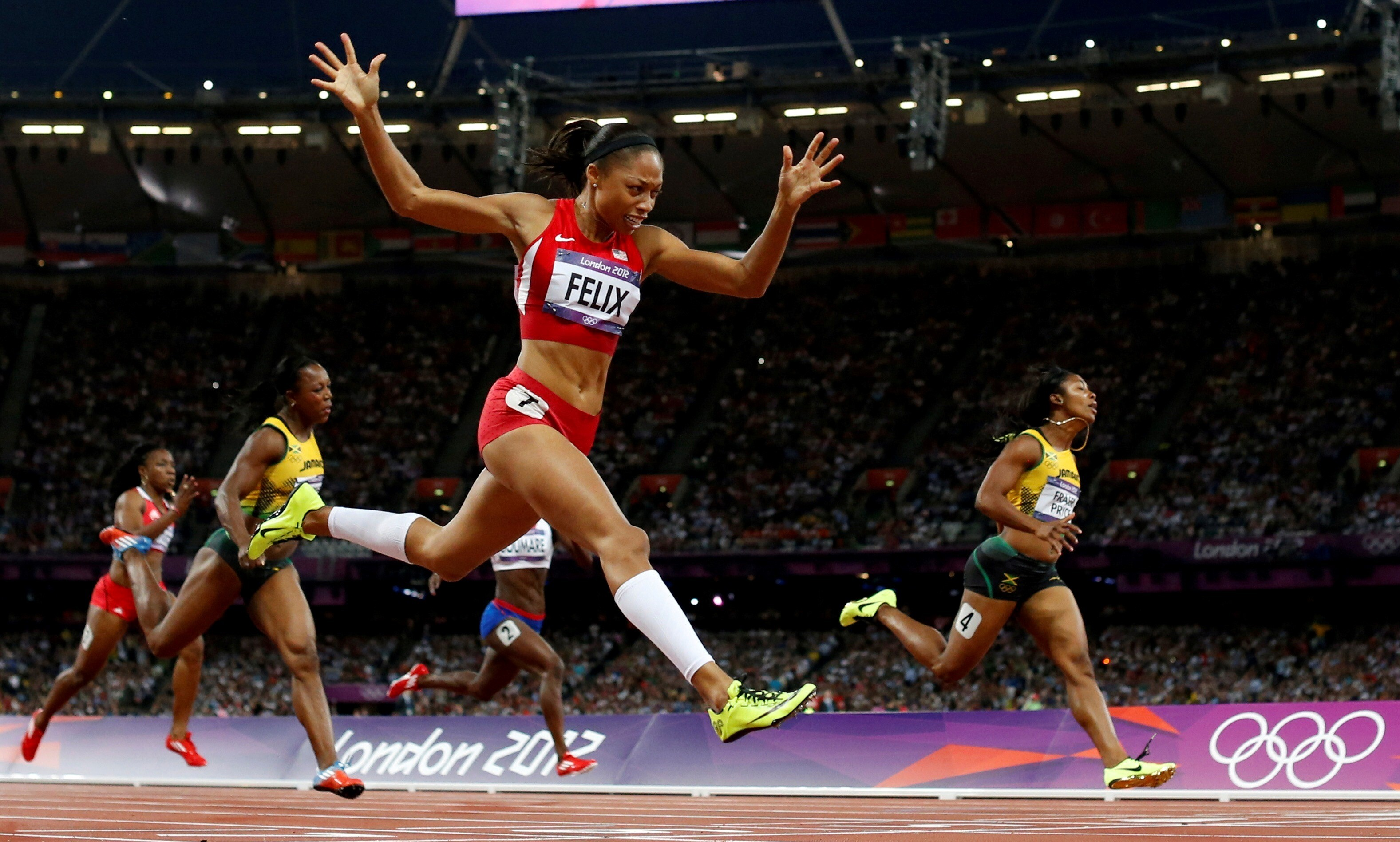Woman Athletics Of London Olympics Hd Wallpapers