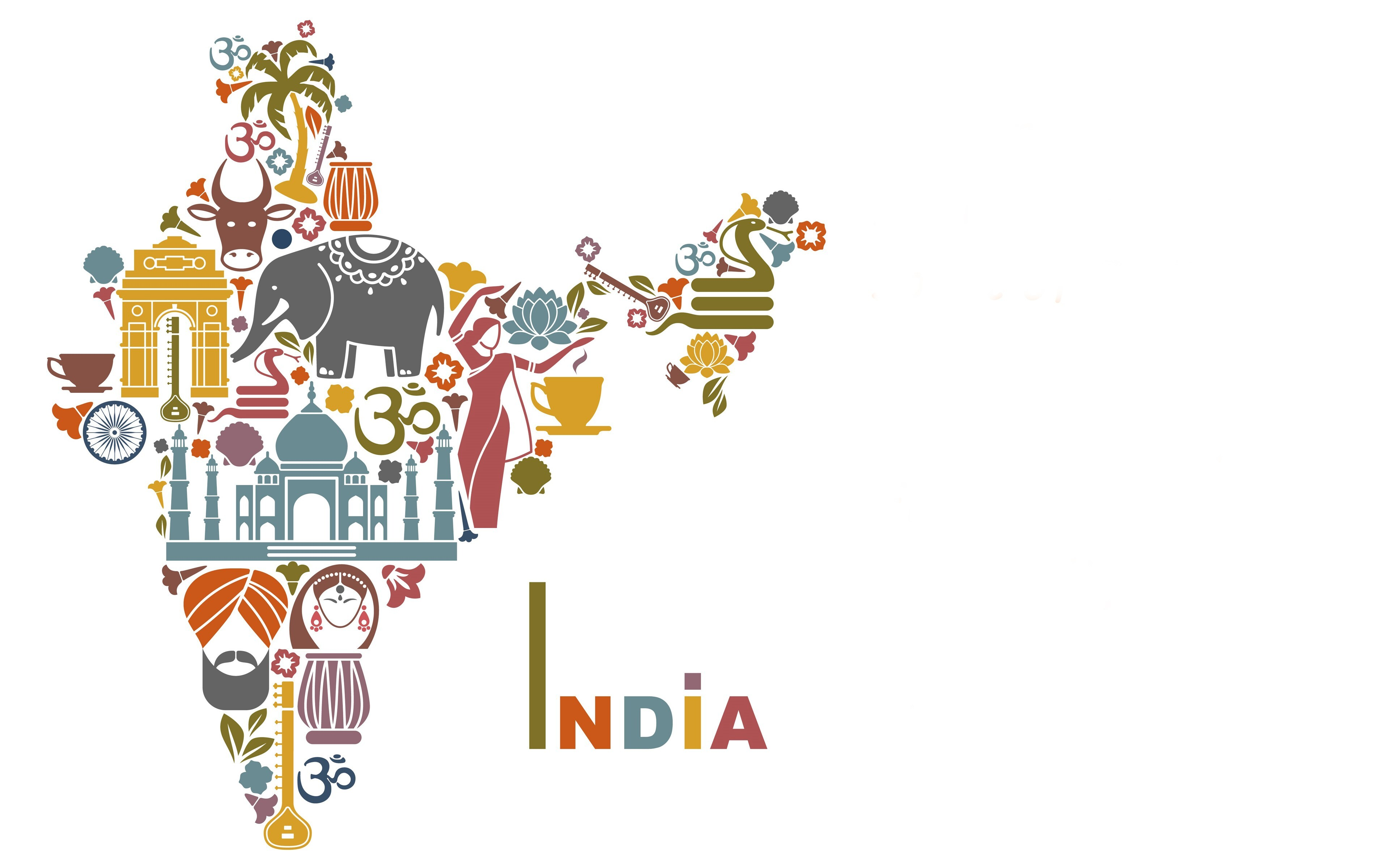 India Map Wallpapers India Traditional Map 4K Wallpaper | HD Wallpapers India Map Wallpapers