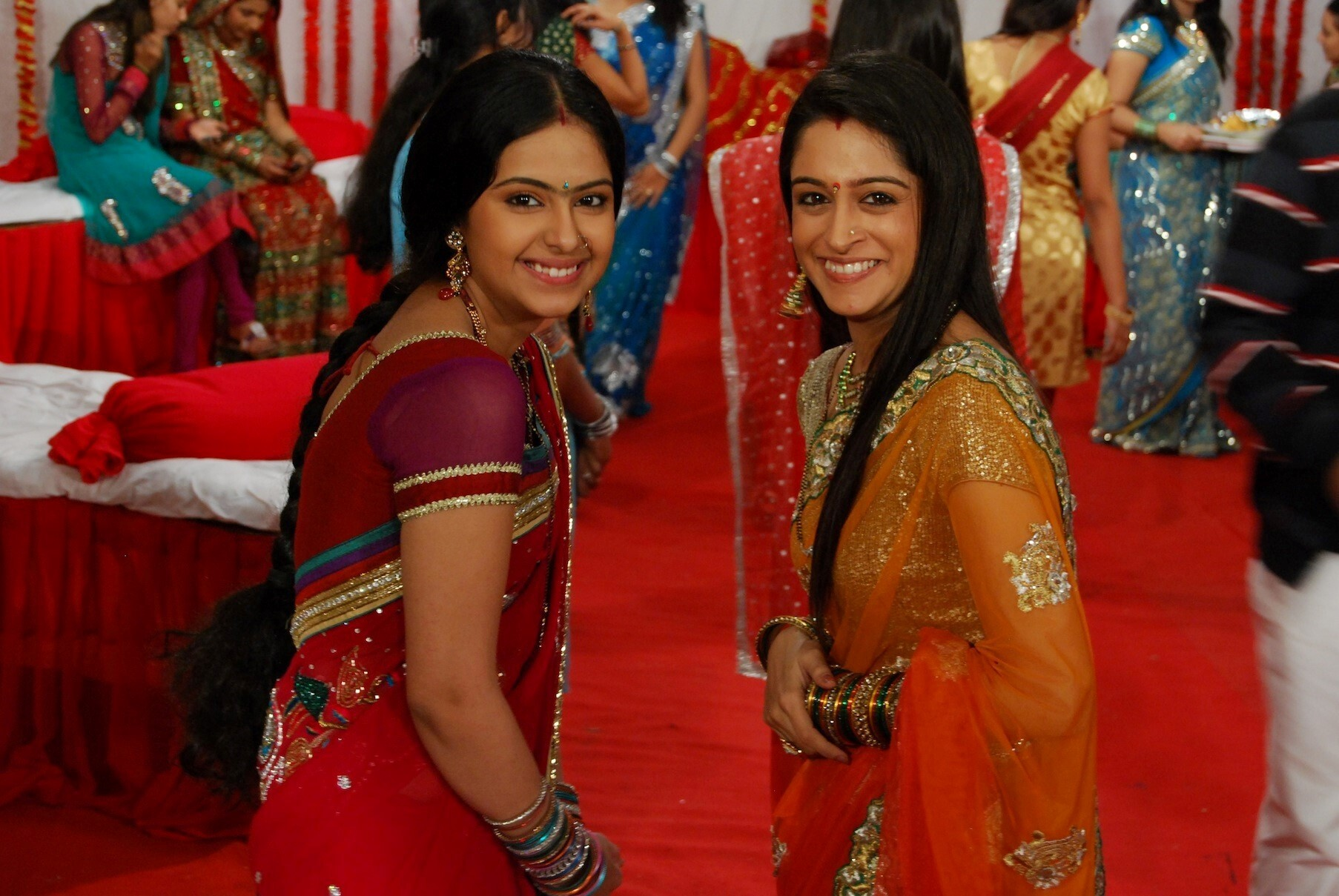 Simar and Roli Smile in Hindi TV Serial Sasuraal Simar Ka on ...