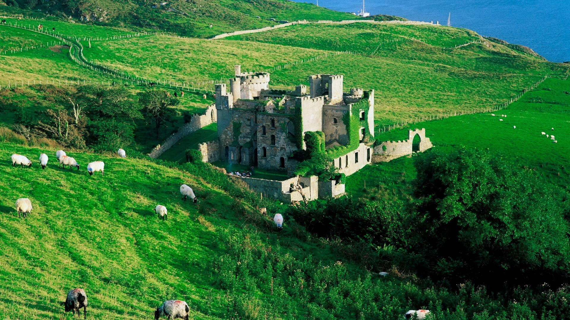 Clifden castle ireland free wallpapers hd wallpapers voltagebd Choice Image
