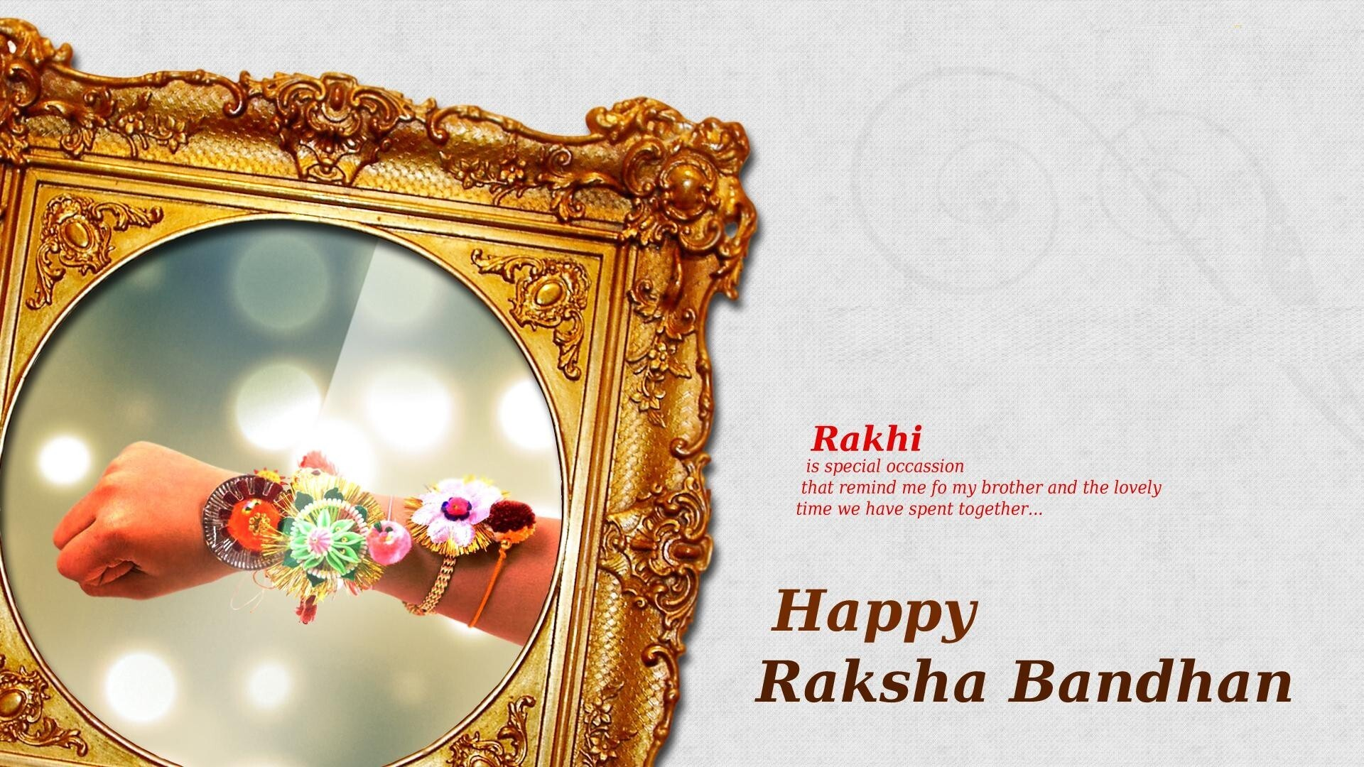Happy Raksha Bandhan Greetings Wallpaper Hd Wallpapers