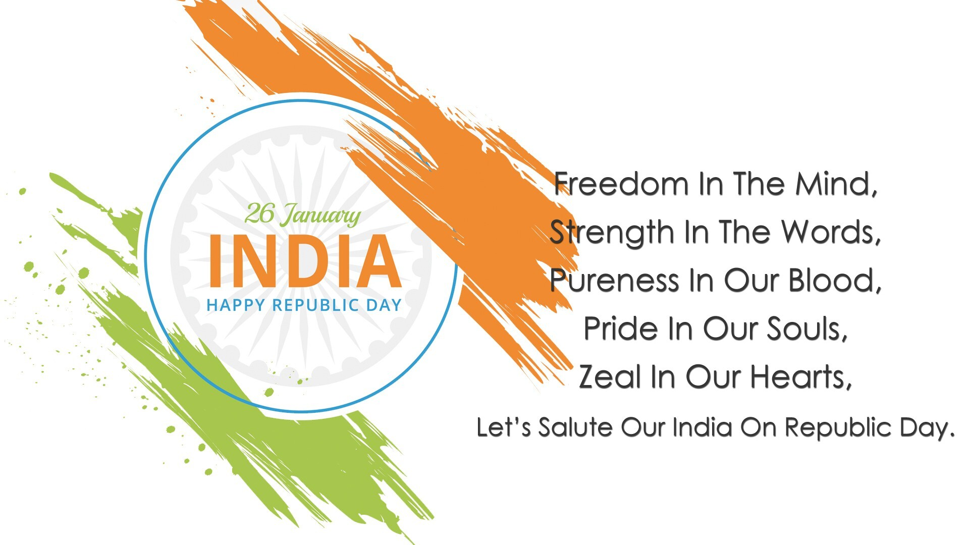 New Wallpaper Of India Republic Day Greetings Hd Wallpapers