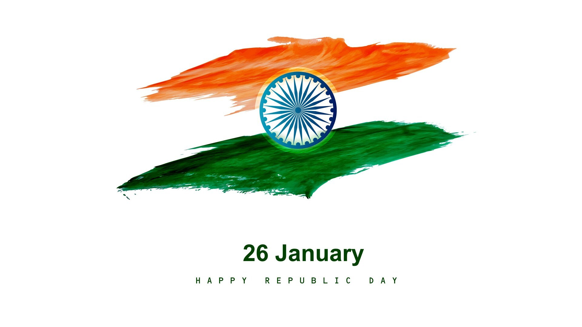Republic Day Hd Wallpaper With Greeting Quote Hd Wallpapers