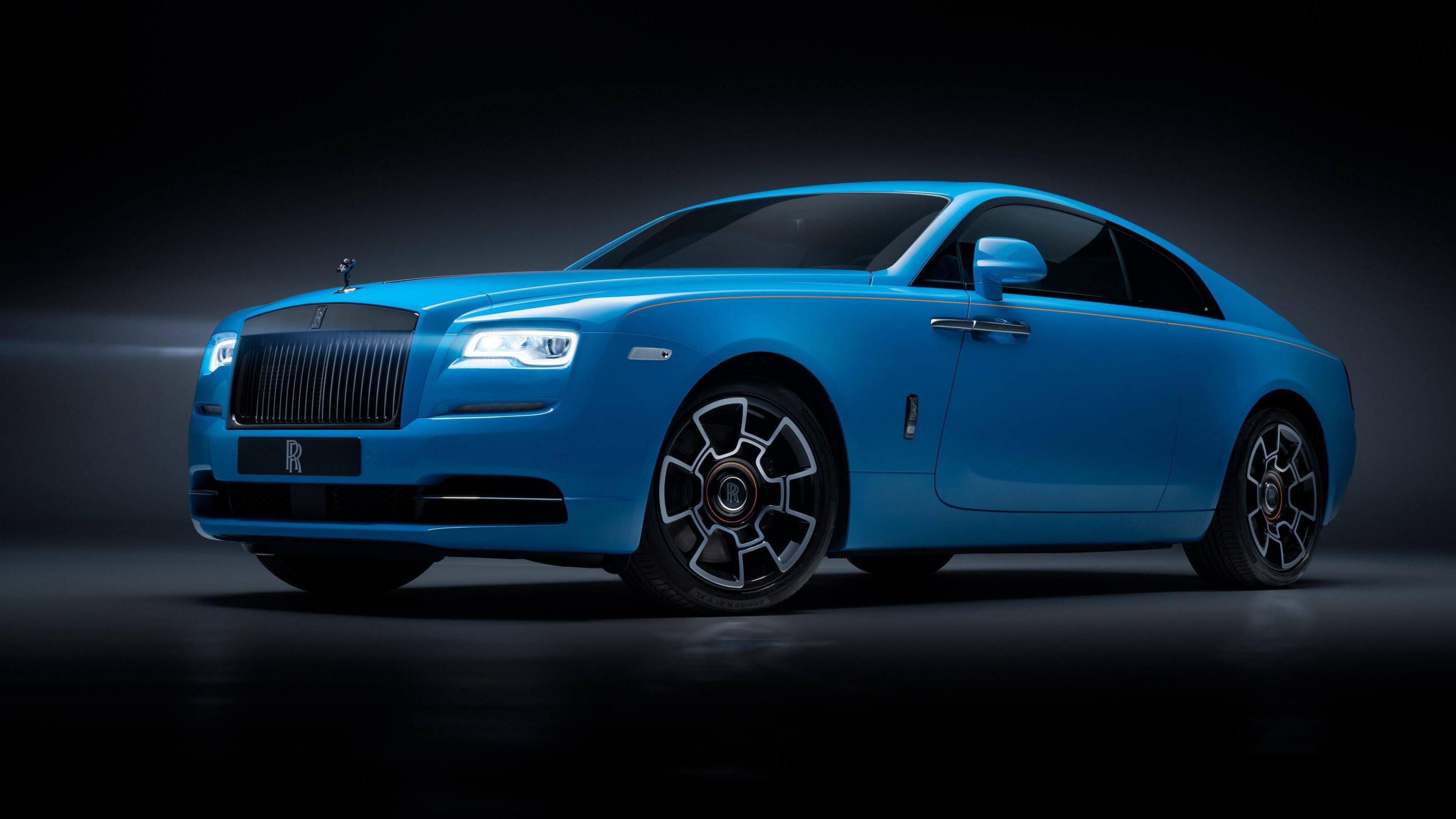 4k Photo Of 2019 Rolls Royce Wraith Black Badge Car Hd