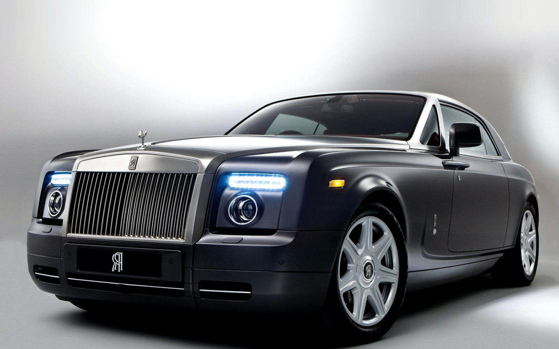 Black Car Rolls Royce Phantom Hd Wallpapers