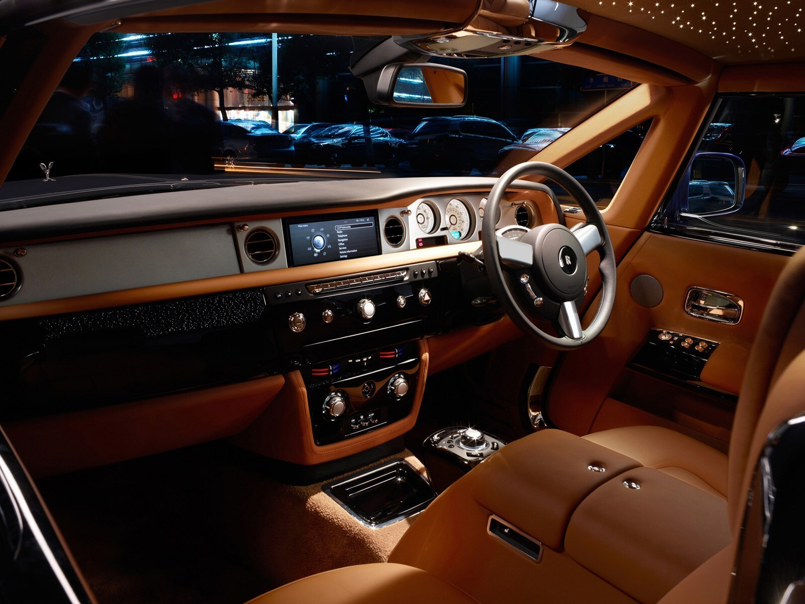 Rolls Royce Phantom Coupe Series 2 Interior Hd Wallpapers