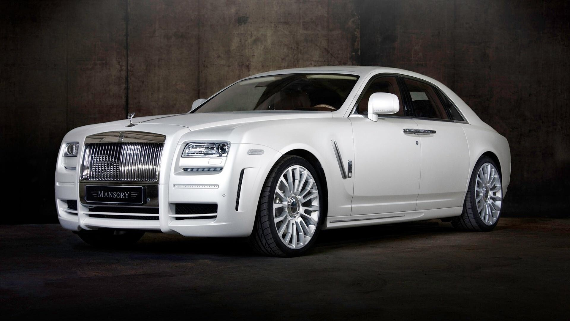 Rolls Royce RR Ghost White Car Wallpapers