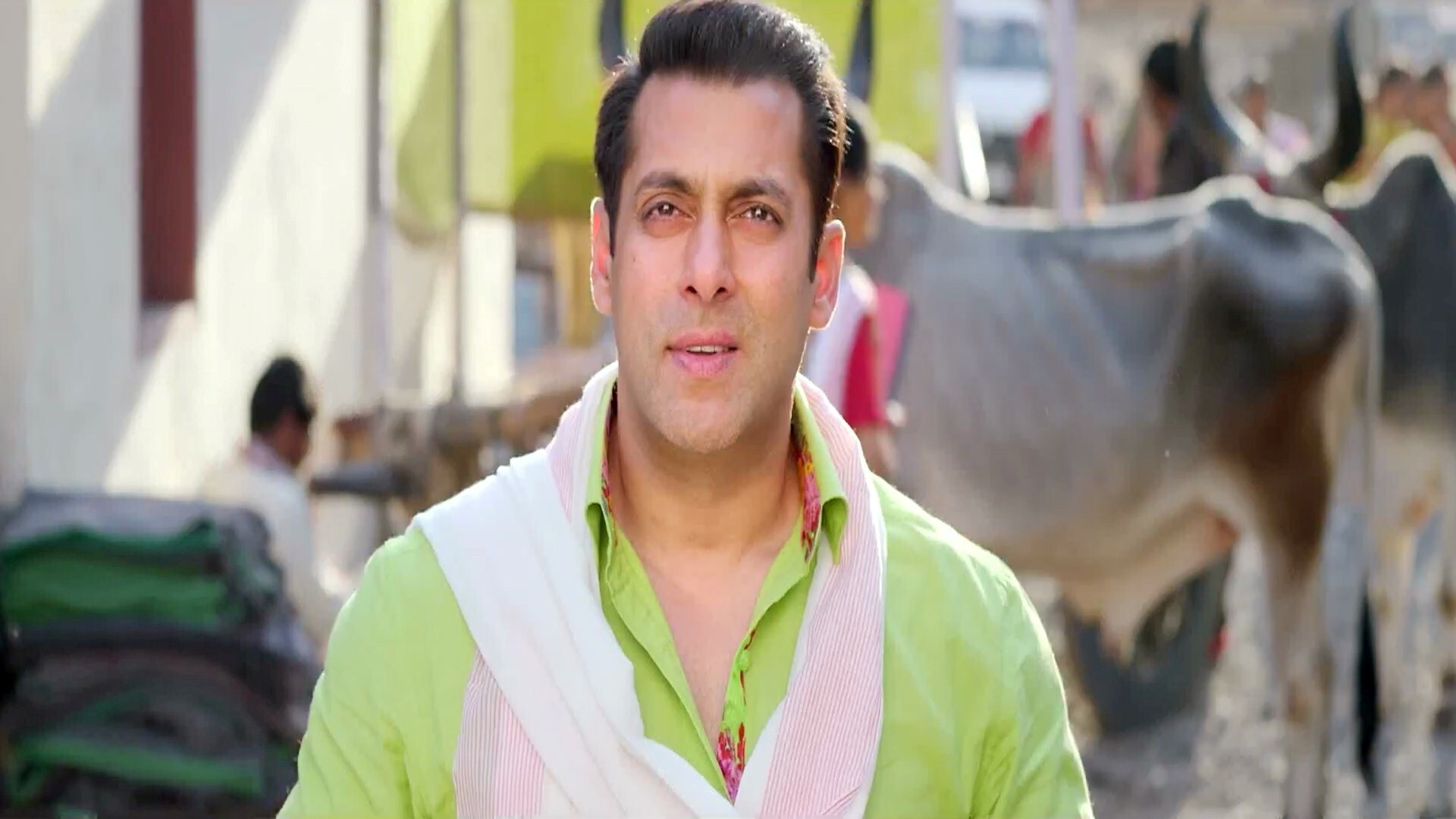 Bollywood Actor Salman Khan In Prem Ratan Dhan Payo Movie Hd