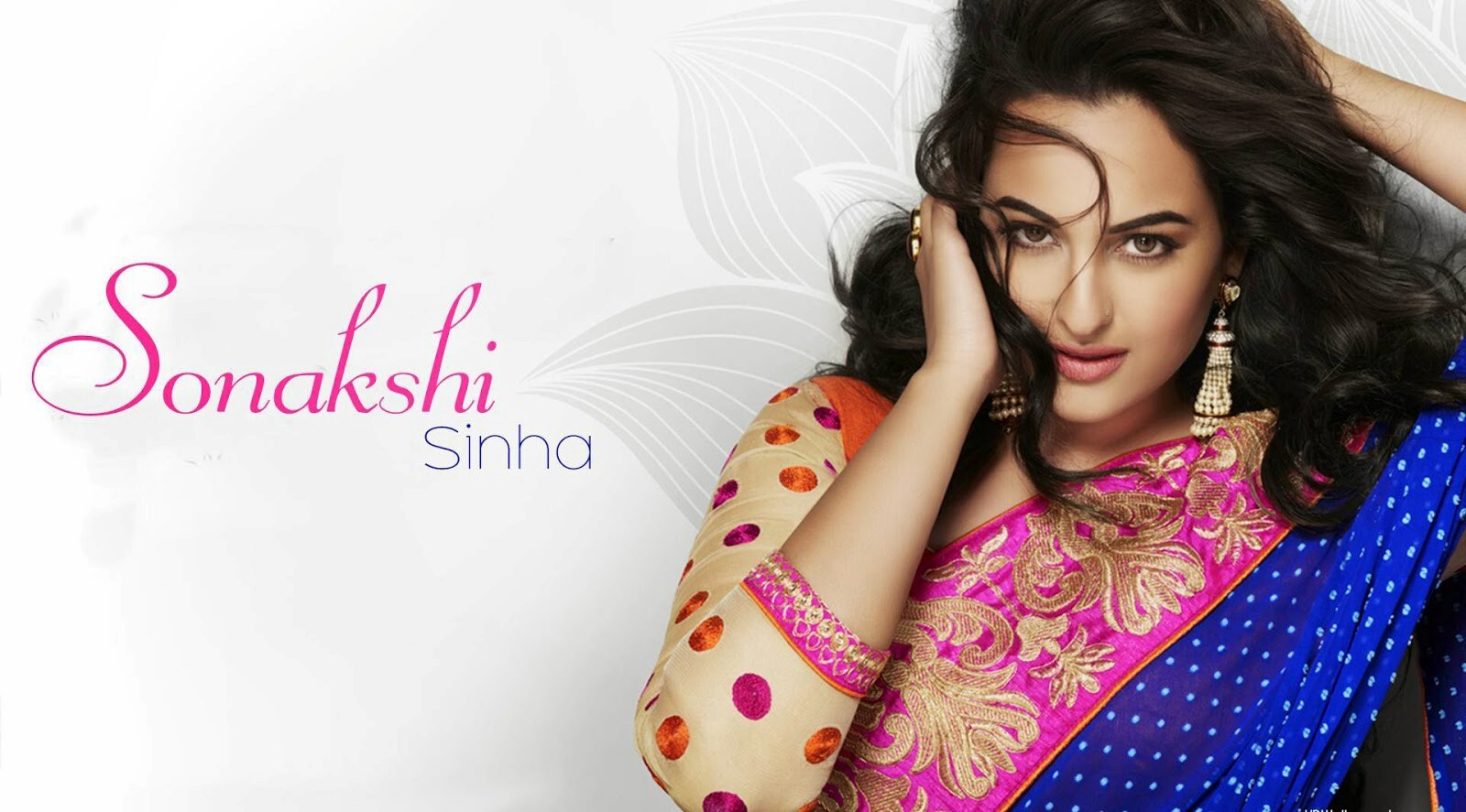 Hot And Sexy Look Of Sonakshi Sinha In Saree Hd Wallpapers Hd Wallpapers