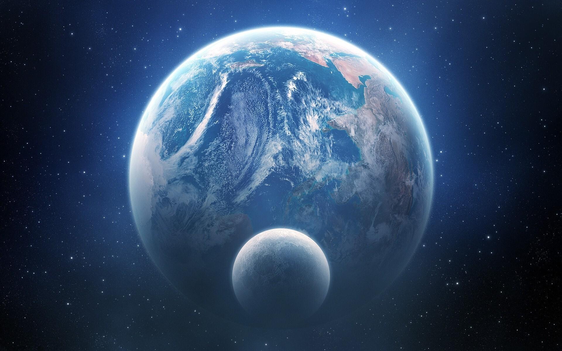 Planet Earth HD Desktop Background   HD Wallpapers