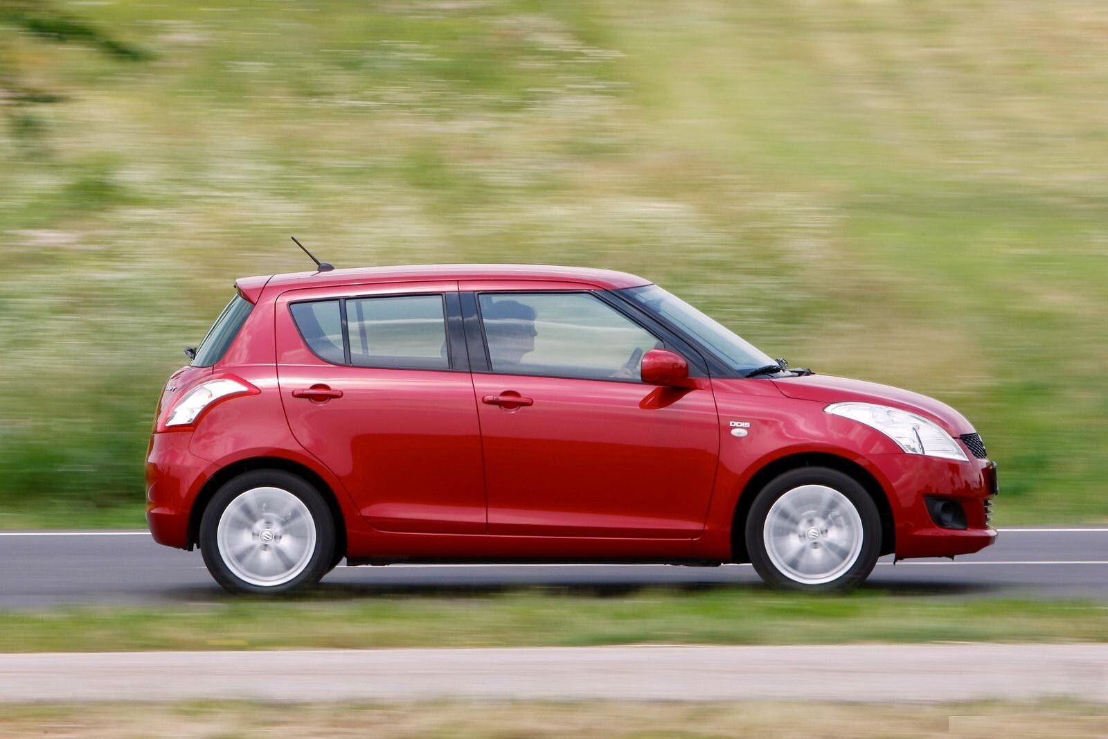 Red Suzuki Swift Car Wallpaper Hd Wallpapers
