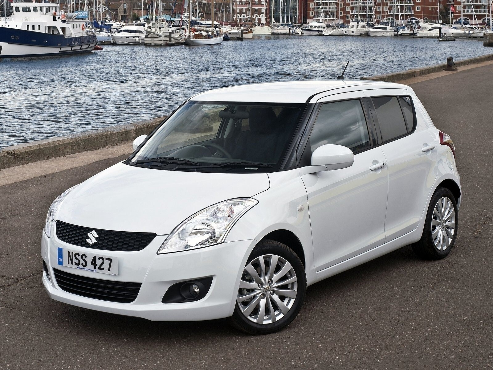 Suzuki White Swift Car Wallpaper Hd Wallpapers