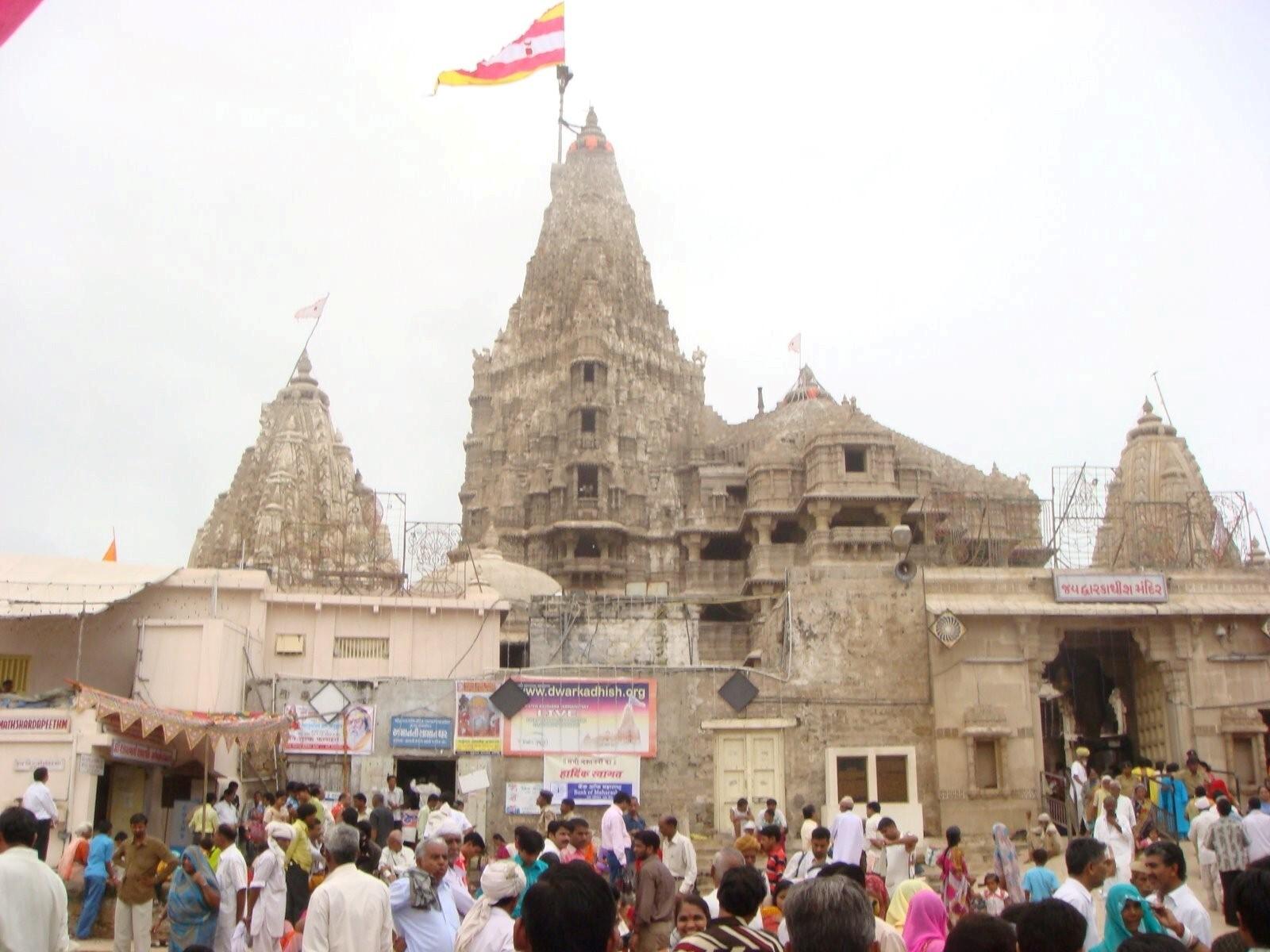 dwarkadhish temples in dwarka hd wallpapers