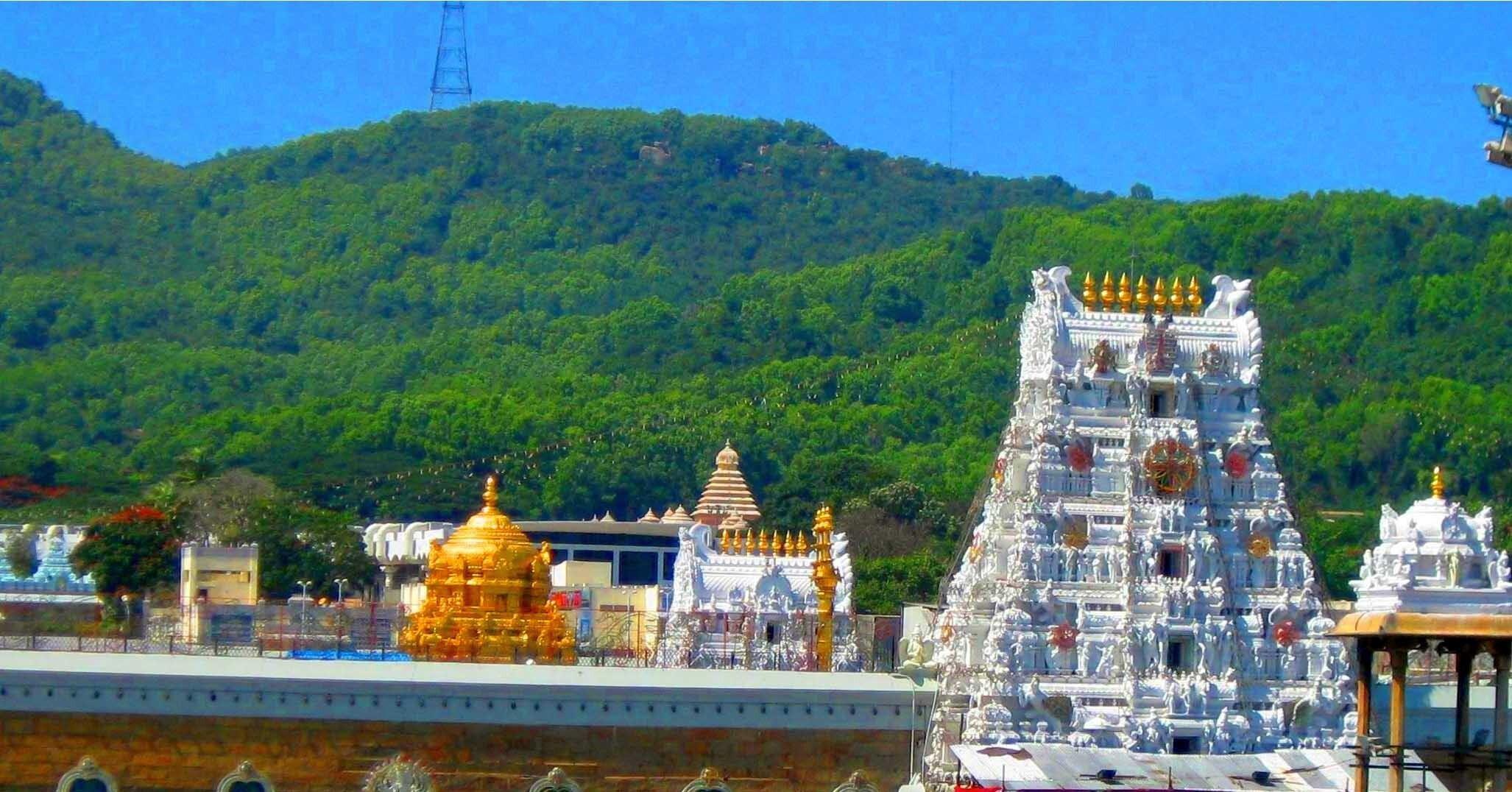 Tirumal Tirupati Balaji Temple Wallpapers For Desktop Hd Wallpapers