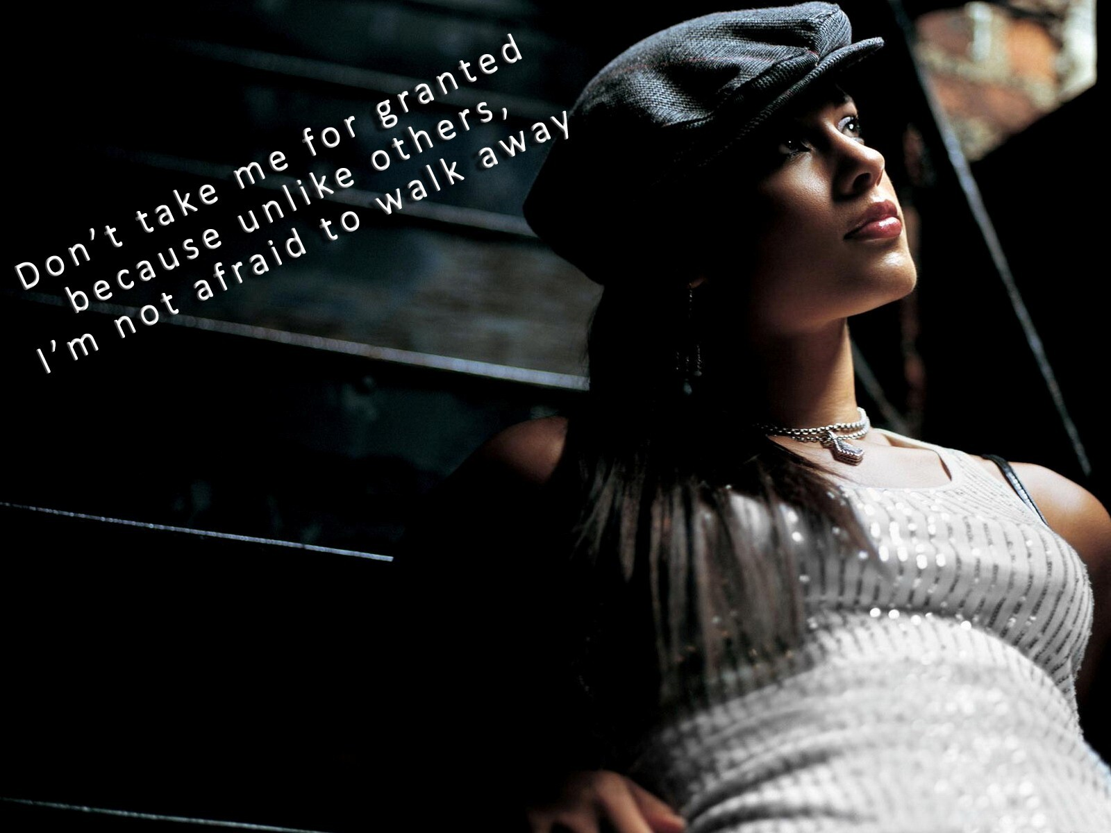 Dont Take Me Granted Amazing Beautiful Nice Girl Quote Desktop Background Wallpapers