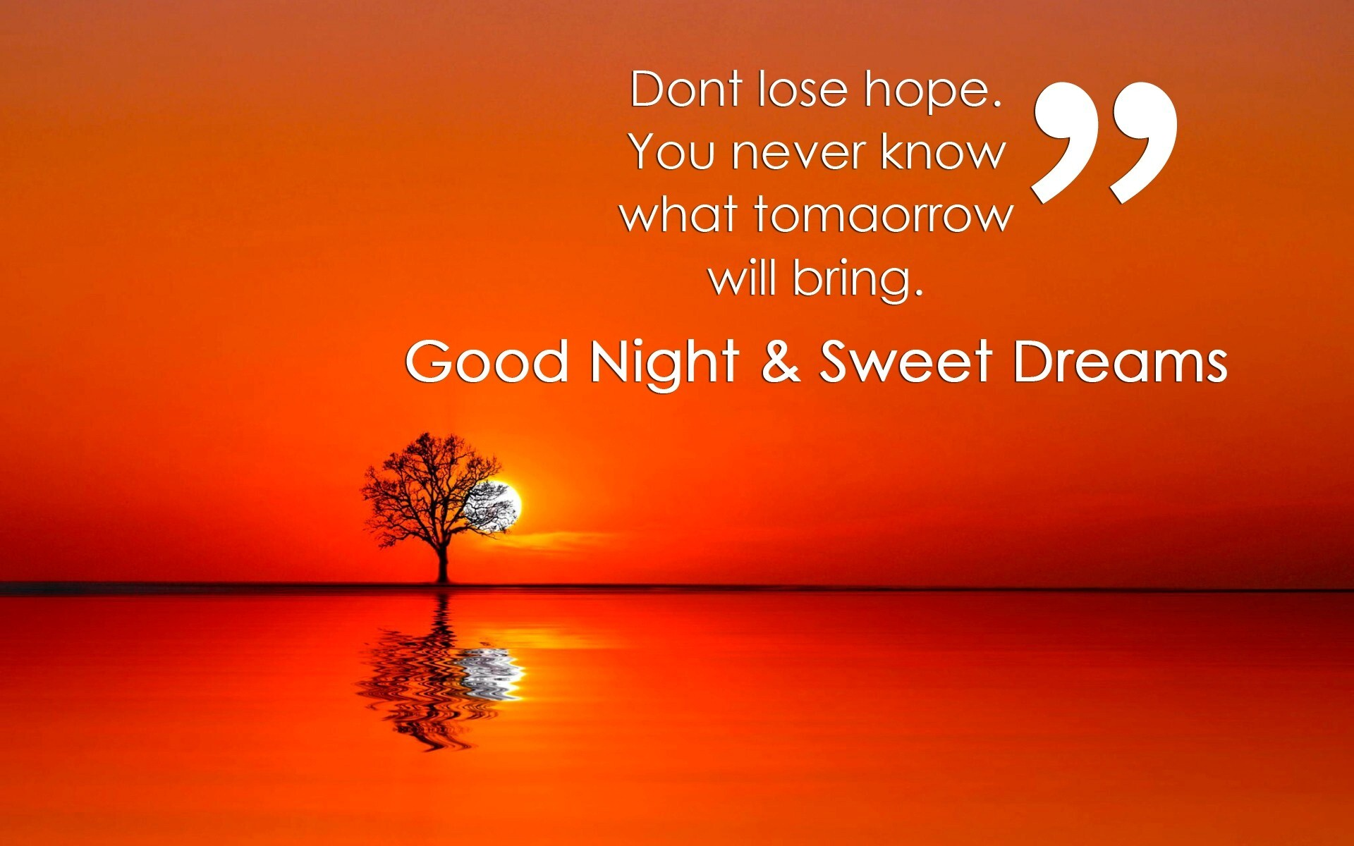 Good Night Quote The Day With Wallpaper Hd The Best Collection