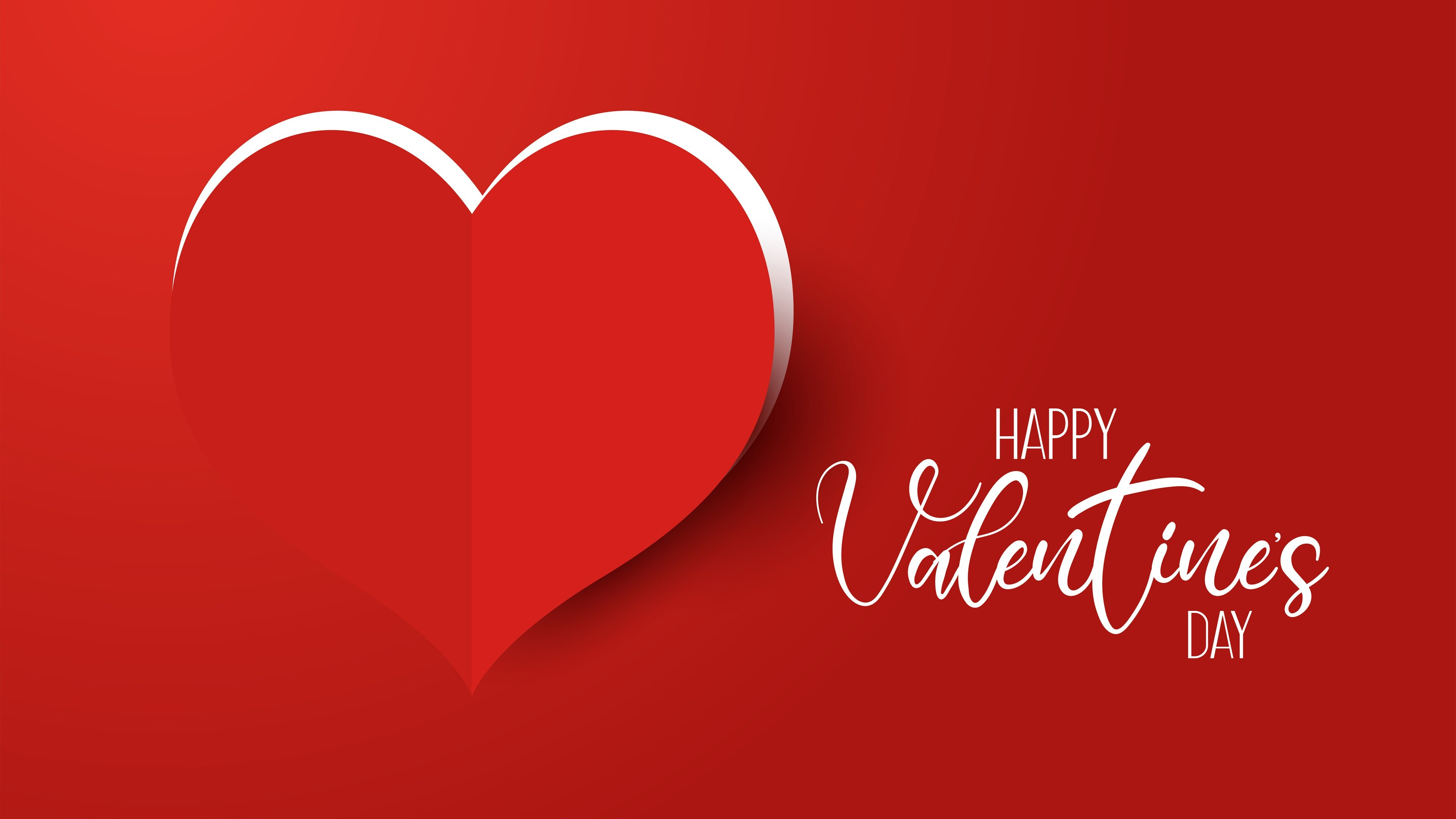Beautiful Valentines Day Red 4k Wallpaper Hd Wallpapers