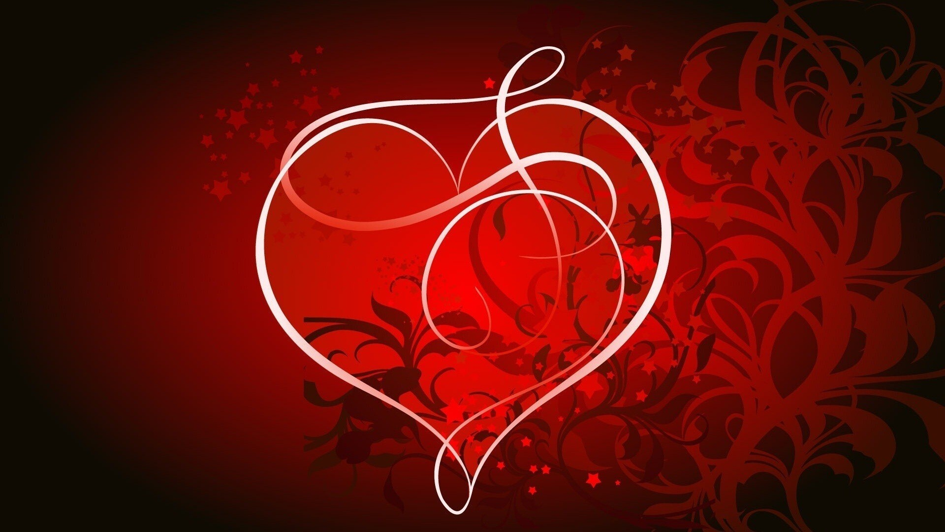 Red_Heart_With_Red_Design_Background