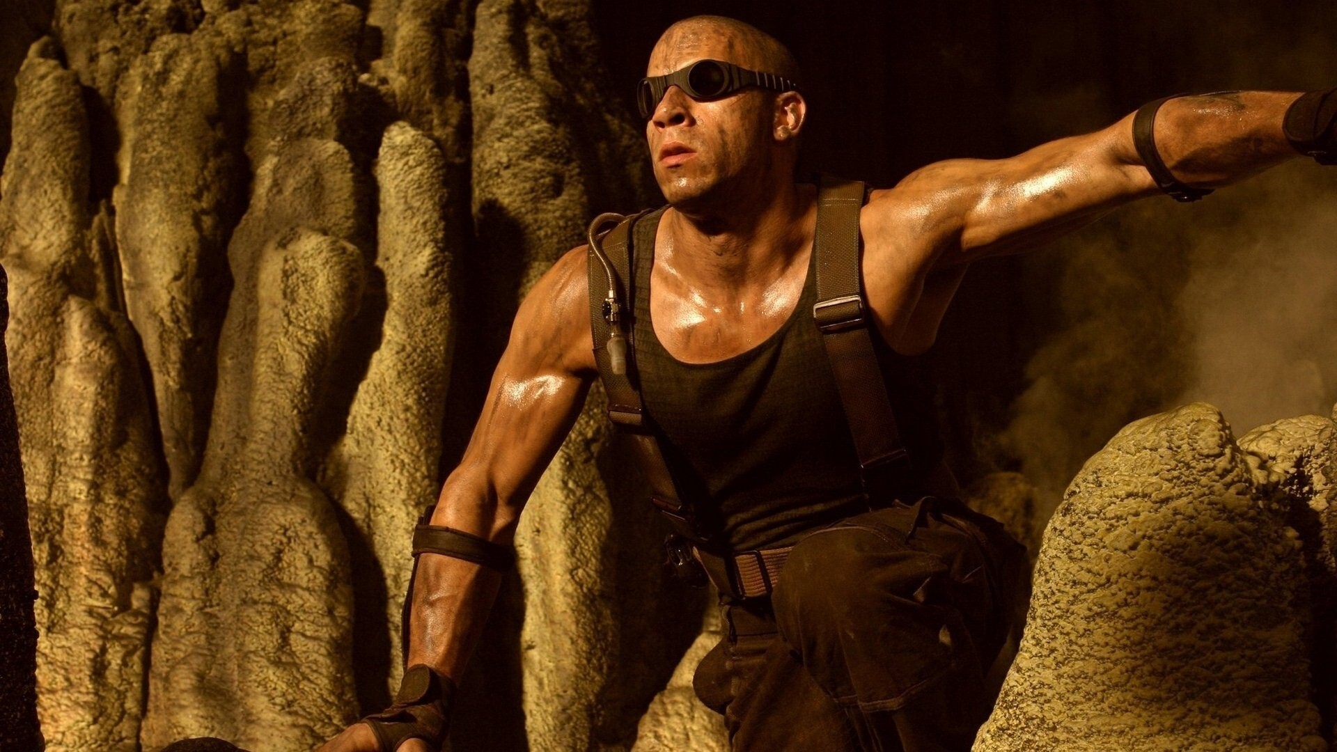 vin diesel the chronicles of riddick movie wallpaper | hd wallpapers