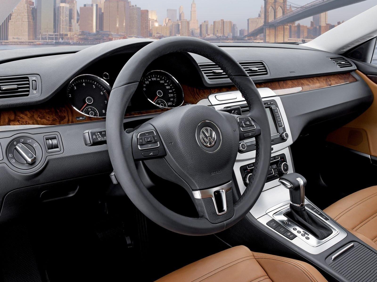 volkswagen passat cc car interior hd wallpapers