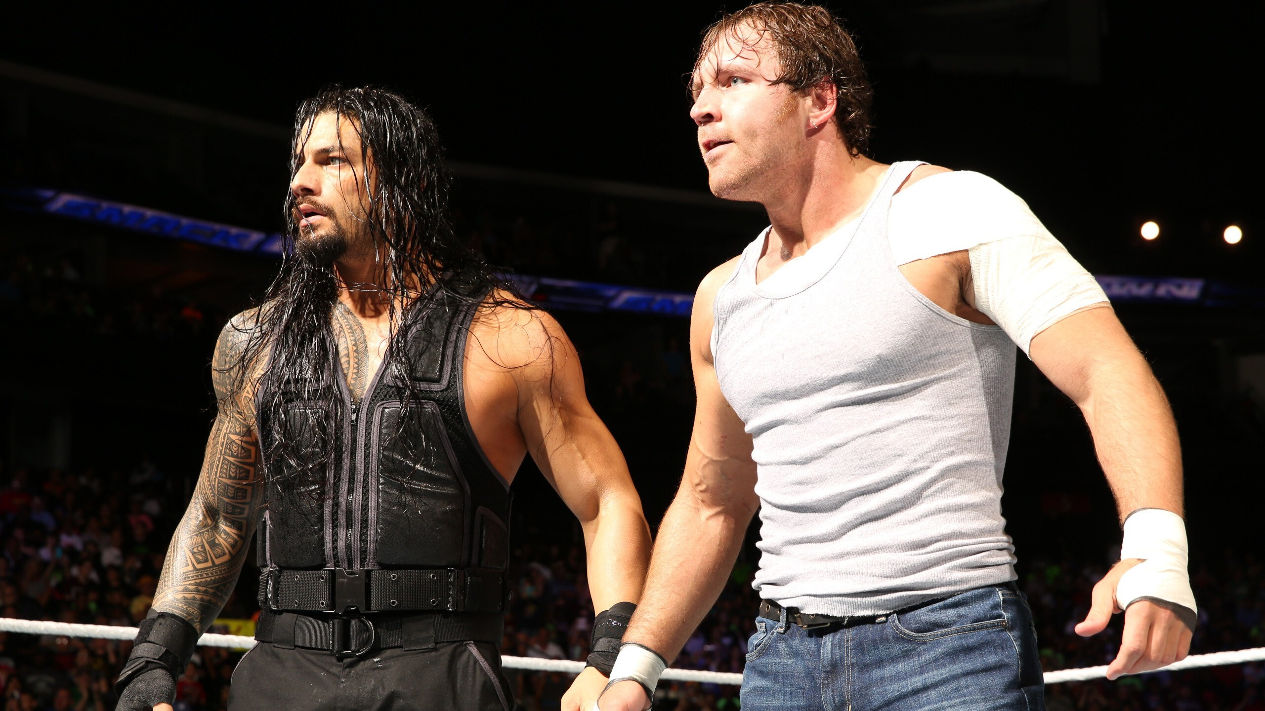 Roman Reigns And Dean Ambrose In Wwe Hd Wallpapers