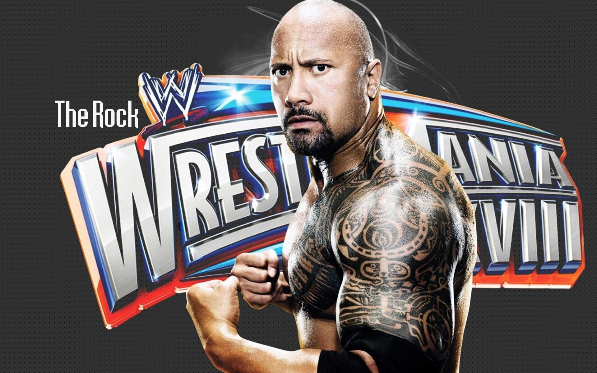 Wwe Super Star The Rock In Wrestlemania Hd Wallpapers