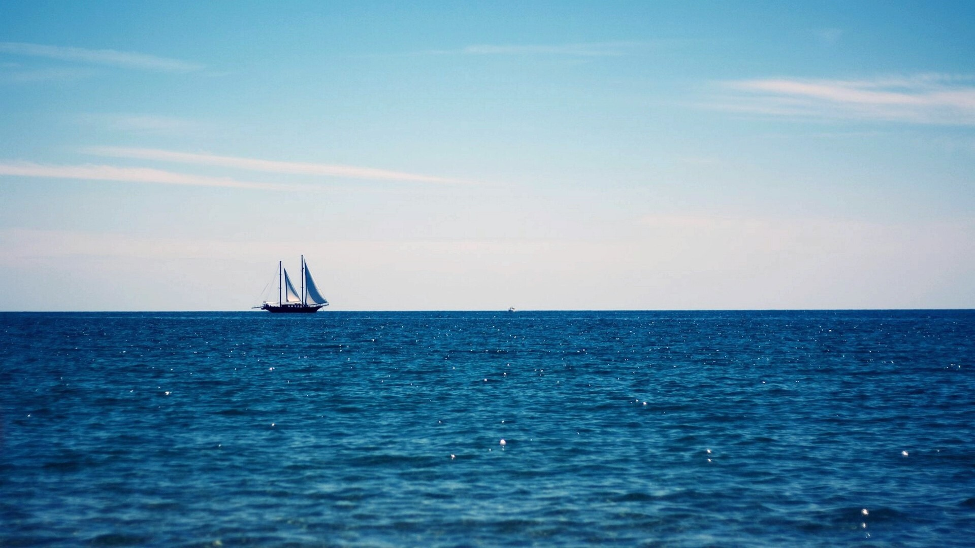 Amazing Nice Waterscape Blue Large Sea HD Images