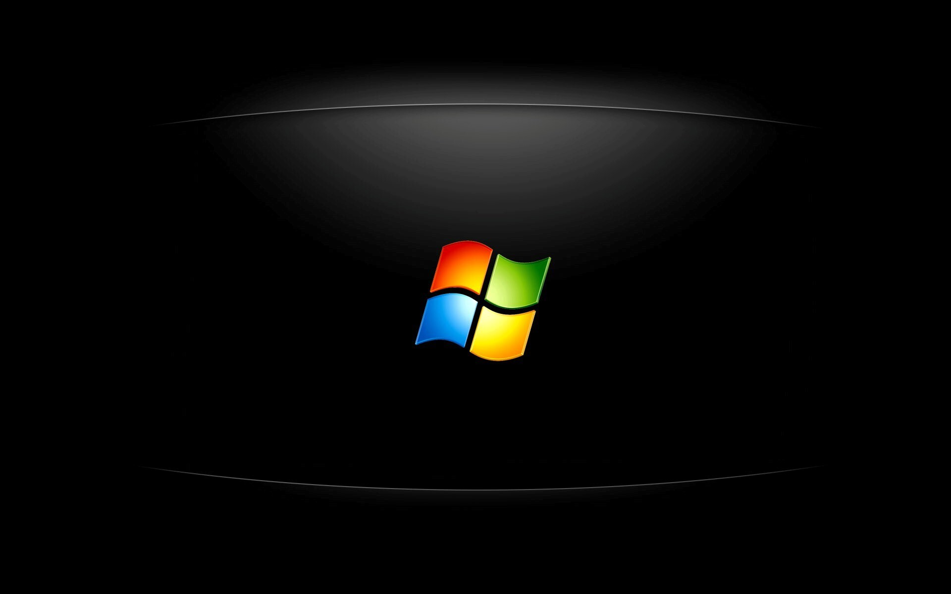 windows logo in black background hd wallpapers