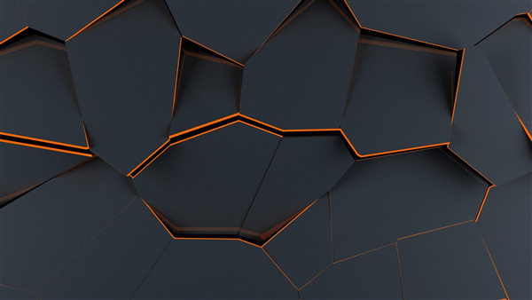 Abstract Quiddity 3D 4K Wallpaper