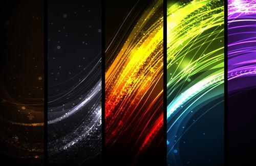 Colorful Ray of Abstract HD Photos in High Resolution for Background