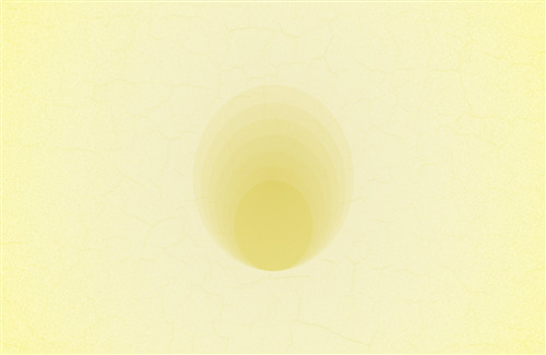 Yellow Circle Abstract Background
