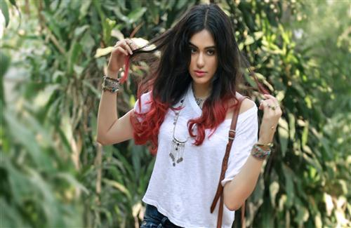 Adah Sharma with Stylish Hair Style