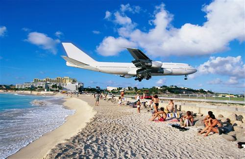 Airplanes on Beach