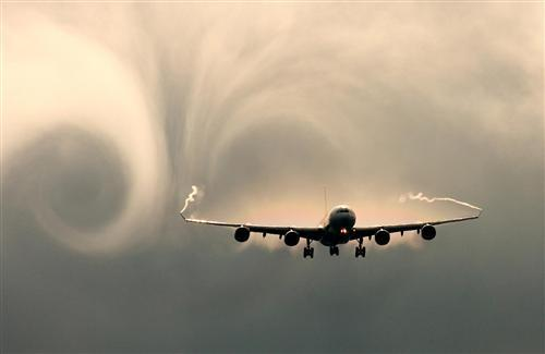 Amazing View of Airplan in Sky