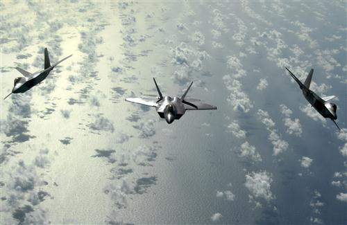 Three Fighter Plane in Sky HD Wallpaper