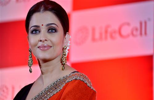 Full HD Photo of Aishwarya Rai Beautiful Actress of Bollywood in Pink Lips