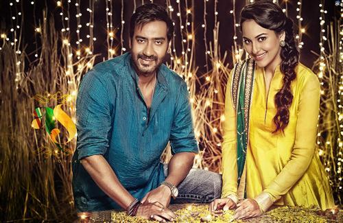 Shonakshi With Ajay