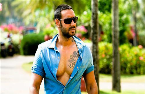 Best Photo of Ajay Devgan with Tatto
