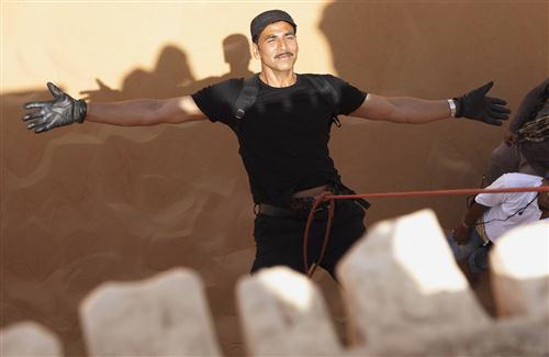 Akshay Kumar Stunt Photo