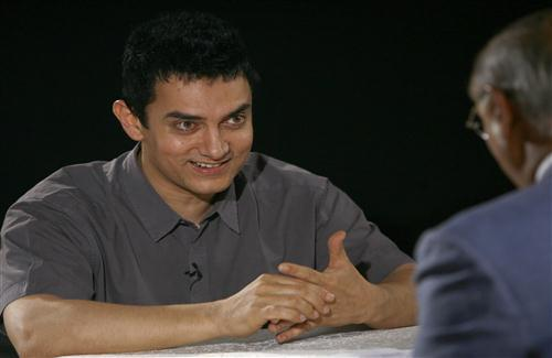 Aamir Khan with Smile