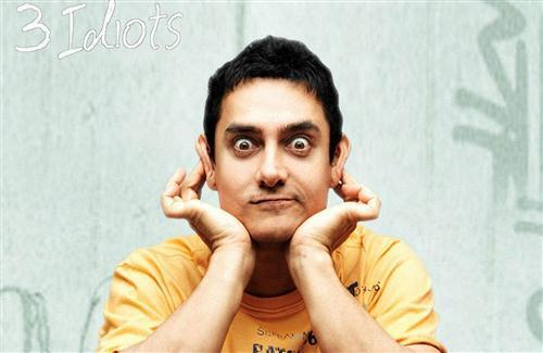 Funny Photo of Aamir Khan 3 Idiots