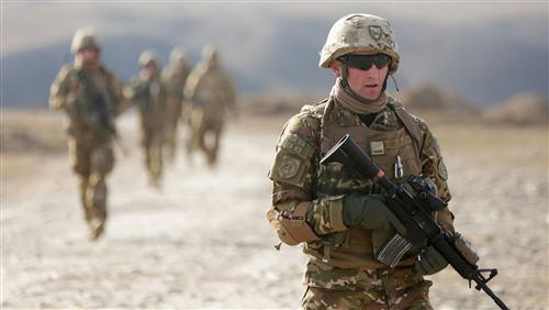 Army Soldier Leading Team